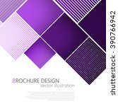 abstract square purple... | Shutterstock .eps vector #390766942