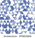 triangle pattern. beauty trendy ... | Shutterstock .eps vector #390803806