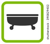 bathtub vector icon. style is... | Shutterstock .eps vector #390829402