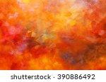 abstract oil paint texture on...   Shutterstock . vector #390886492