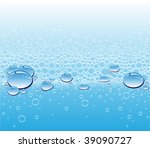 rain drops | Shutterstock .eps vector #39090727