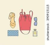 woman set | Shutterstock .eps vector #390915115
