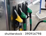 at gas station. | Shutterstock . vector #390916798