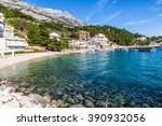 amazing view on stomarica... | Shutterstock . vector #390932056