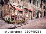 Small Trattoria In Tuscan...
