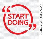 start doing lettering... | Shutterstock .eps vector #390979612