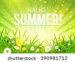 Hallo  Summer  Happy Poster...