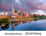 Nashville  Tennessee Downtown...