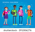 vector detailed character flat... | Shutterstock .eps vector #391006276