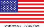 usa flag | Shutterstock .eps vector #391024426