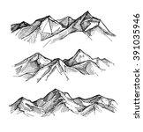 hand drawn vector illustration  ... | Shutterstock .eps vector #391035946
