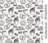 hand drawn vector illustration  ... | Shutterstock .eps vector #391035952
