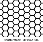vector modern seamless geometry ... | Shutterstock .eps vector #391065736
