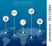 design business concept... | Shutterstock .eps vector #391112866