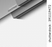 vector material design. trendy... | Shutterstock .eps vector #391119472