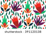 ornamental  traditional  simple ... | Shutterstock .eps vector #391120138