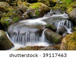 Bunch Creek Falls In The...