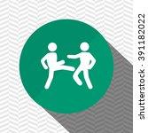 sport icon design  | Shutterstock .eps vector #391182022