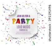 Party Poster Template With...