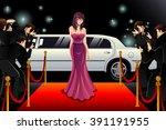 a vector illustration of... | Shutterstock .eps vector #391191955