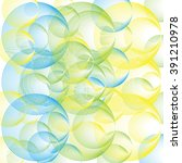 vector background with abstract ... | Shutterstock .eps vector #391210978