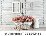 Shabby Chic Still Life  Bunch...