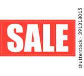 promotion tag flat style   sale  | Shutterstock .eps vector #391318015