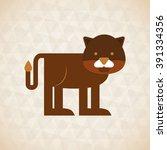 animal cartoon design  | Shutterstock .eps vector #391334356