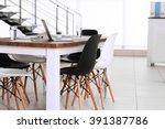 Modern Office. Furniture Set...