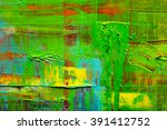 abstract painted canvas. oil... | Shutterstock . vector #391412752