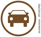 car vector icon. style is flat... | Shutterstock .eps vector #391452982
