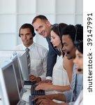 multi ethnic business team... | Shutterstock . vector #39147991
