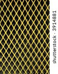 A Yellow Patterned Wire Grid....