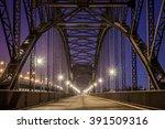 hamburg historical bridge | Shutterstock . vector #391509316