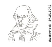 William Shakespeare. Sketch...