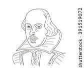 William Shakespeare. Sketch...