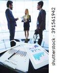 economical data | Shutterstock . vector #391561942
