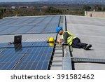 photovoltaic | Shutterstock . vector #391582462