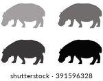 Hippo Silhouette