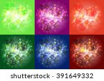 vector abstract background with ... | Shutterstock .eps vector #391649332