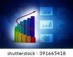 business graph | Shutterstock . vector #391665418