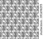 seamless pattern  geometric... | Shutterstock .eps vector #391698295