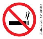 no smoking sign   Shutterstock .eps vector #391700026