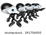 virtual reality vr goggles... | Shutterstock . vector #391706905