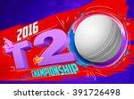 illustration of cricket ball... | Shutterstock .eps vector #391726498