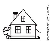 Simple House  Vector Icon ...