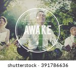 Small photo of Awake Open Minded Faith Reality Awakening Concept
