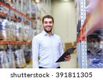 wholesale  logistic  business ... | Shutterstock . vector #391811305