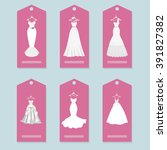a set of price tag with the... | Shutterstock .eps vector #391827382