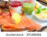 Fresh Salmon With Lemon And...